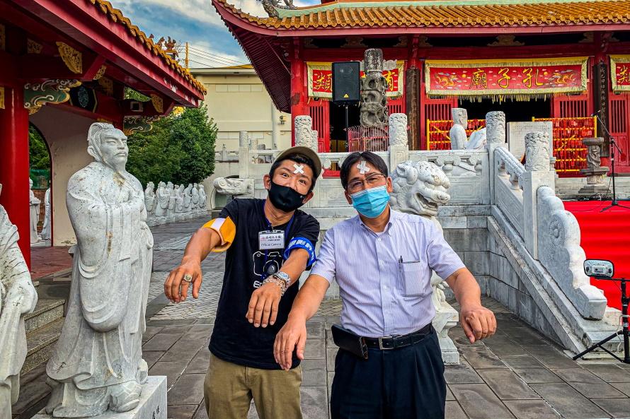 孔子廟という名の楽園で。